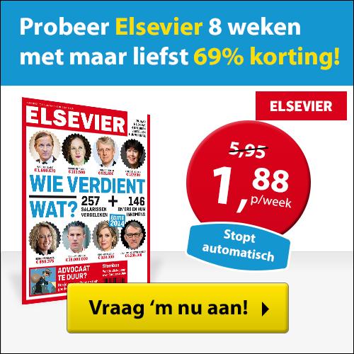 Elsevier nu 4 weken voor slechts 10 euro
