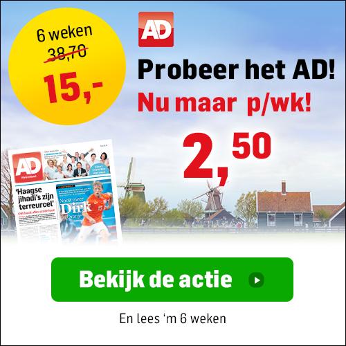 6 weken AD slechts 2,50 euro per week