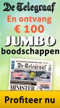 100 Euro boodschappen Jumbo bij De Telegraaf