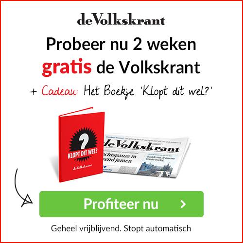 Gratis Volkskrant