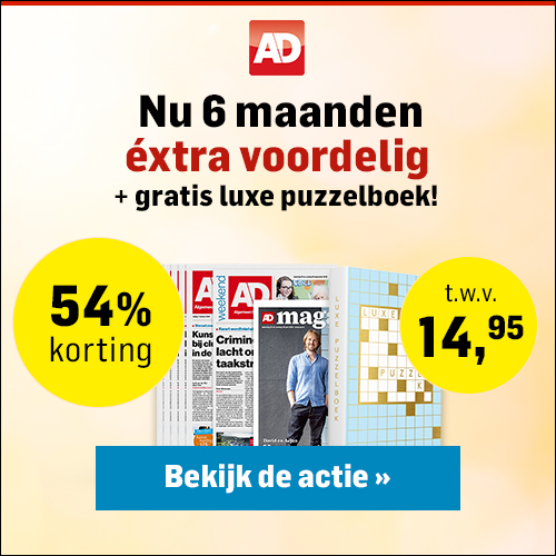 AD met 54% korting