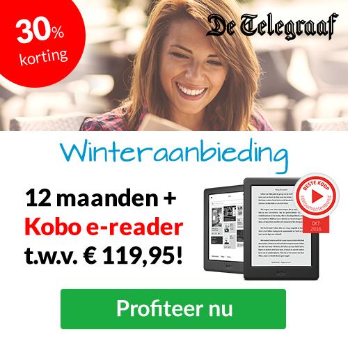 Telegraaf: gratis Kobo e-reader
