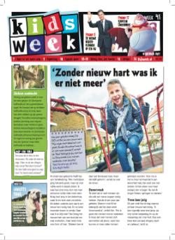 Kidsweek 13 weken