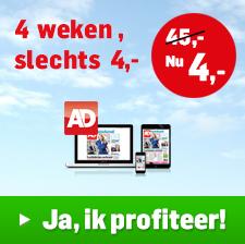 4 Weken Algemeen Dagblad voor 4 euro