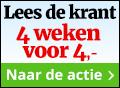 Je favoriete krant voor 1 euro per week