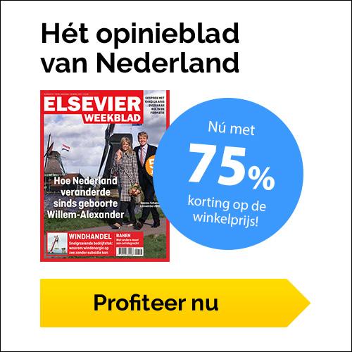 """Elsevier 75% korting + Gratis Special """"Het Vaticaan"""""""