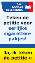 Teken de KWF petitie voor eerlijke sigarettenpakjes!