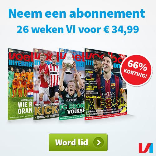 Voetbal International nu met 66% korting!