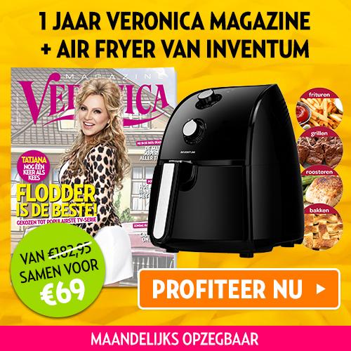 Air Fryer van Inventum + Veronica magazine nu 69 euro