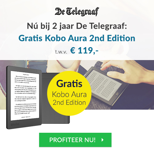Telegraaf Kobo Auara actie