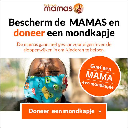 Geef de Mamas een mondkapje